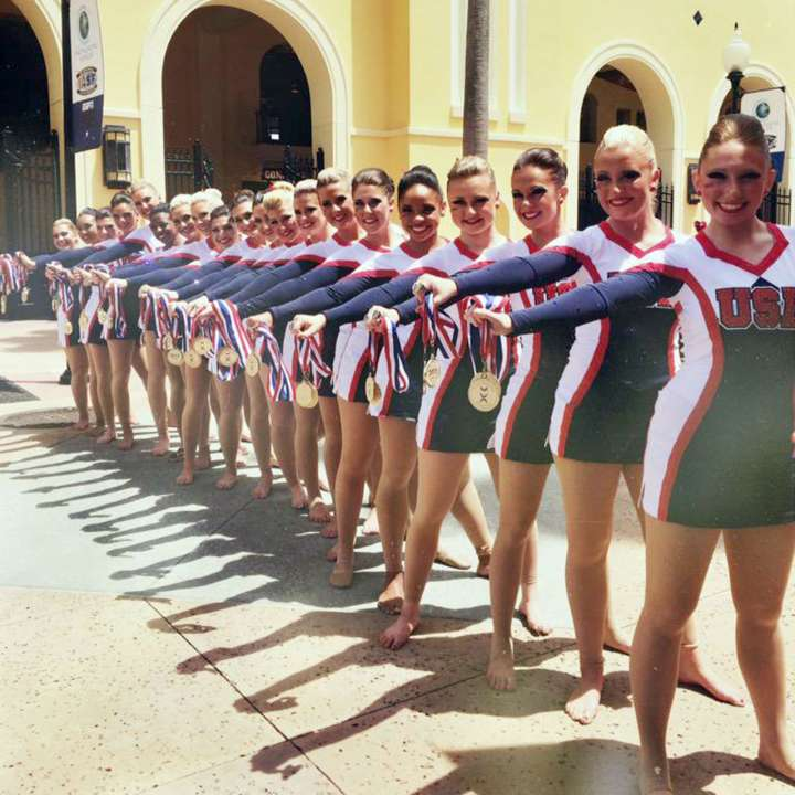 2015 ICU Worlds USA Cheer Team