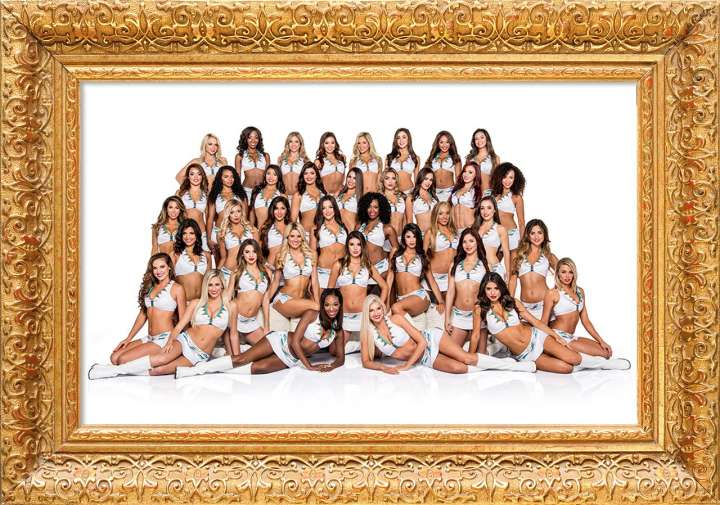 2106 Miami Dolphins Cheerleaders