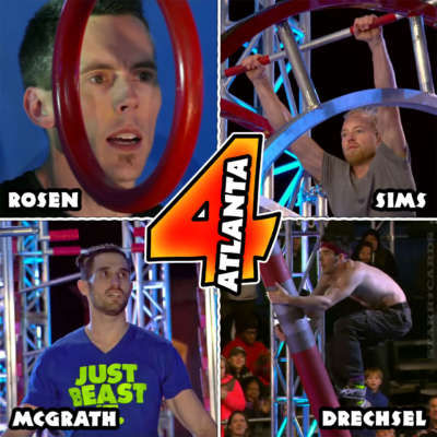 American Ninja Warrior Atlanta Finals finishers