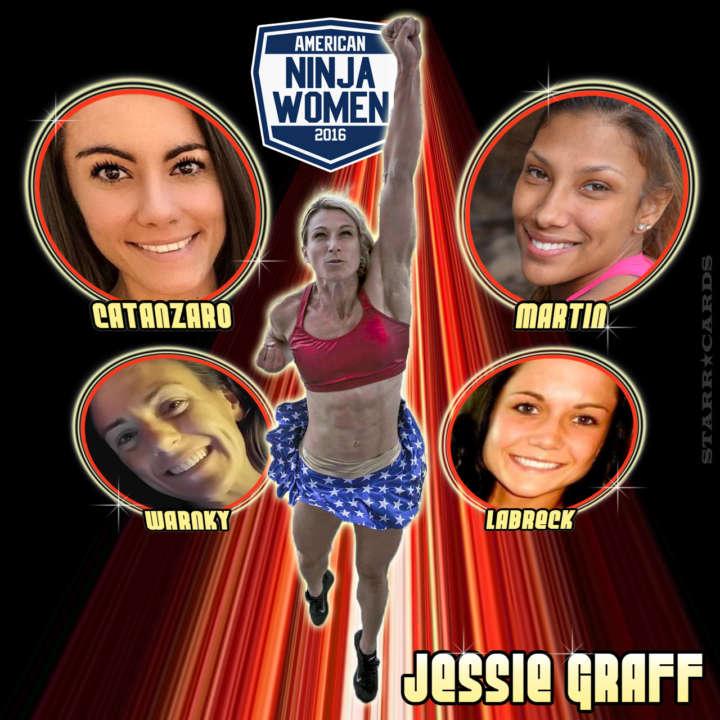 American Ninja Women: Jessie Graff, Kacy Catanzaro, Meagan Martin, Michelle Warnky, Jesse Labreck