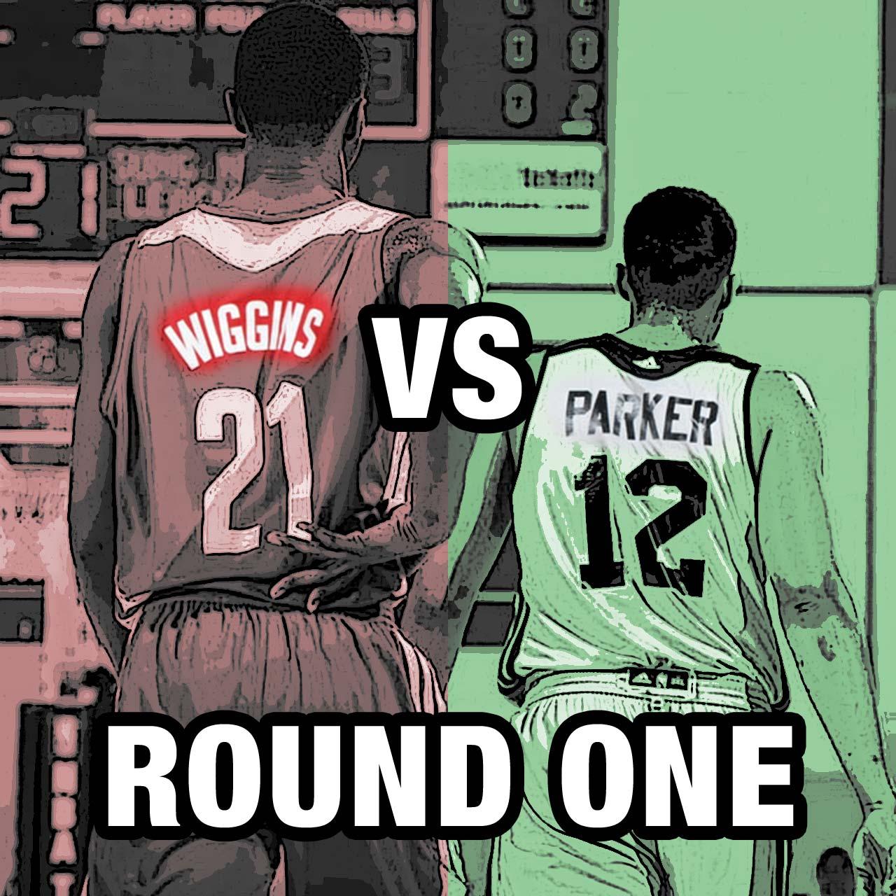 Round One: Andrew Wiggins vs. Jabari Parker