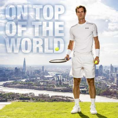 Andy Murray is on top of the world with No. 1 men's singles ranking
