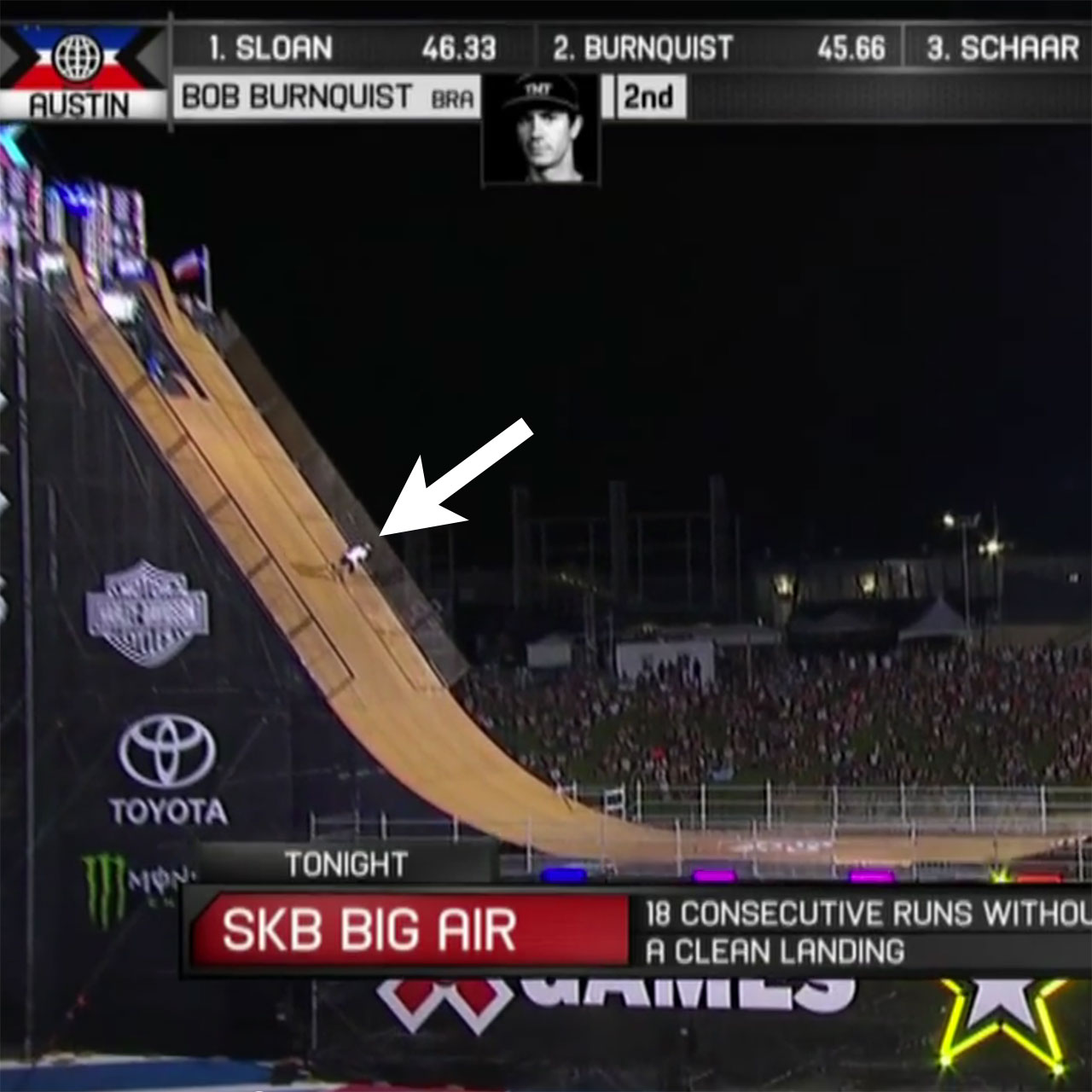 Bob Burnquist claims Skateboard Big Air gold at X Games Austin 2015
