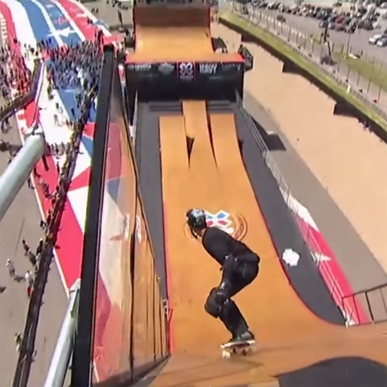 Bob Burnquist wins Big-Air-Doubles gold with Morgan Wade