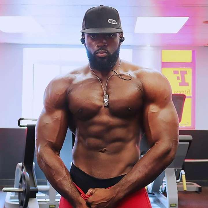 Bodybuilder Gabriel Sey