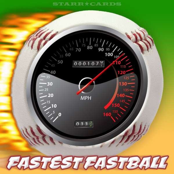 Can the fastest fastball reach 110 miles per hour?
