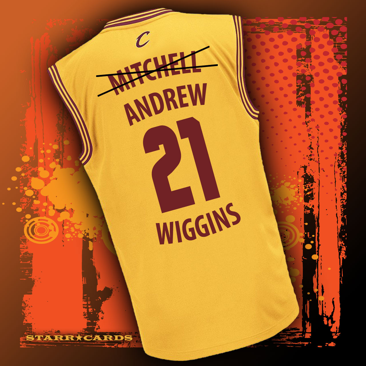 Cavaliers introduce Andrew Wiggins as Mitchell Wiggins