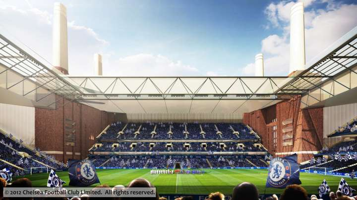 Chelsea FC's proposed Battersea Power Station Stadium