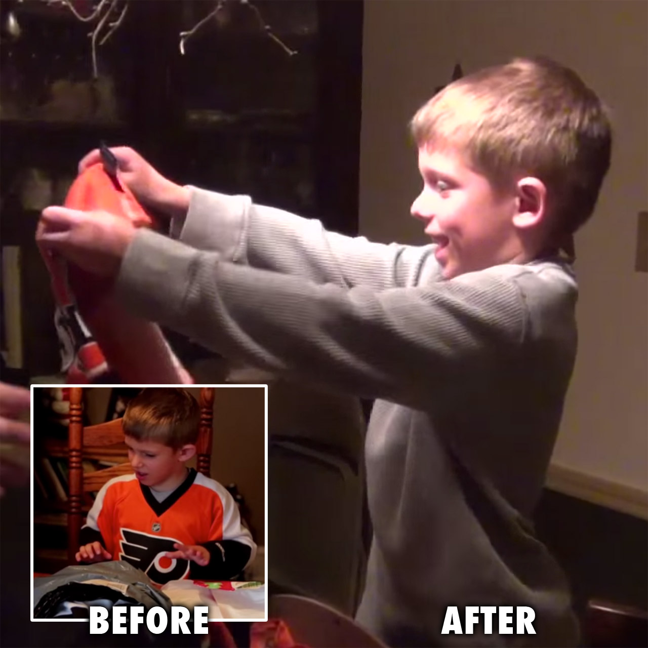 Claude Giroux gift for Flyers fan Kohlsen Fisher