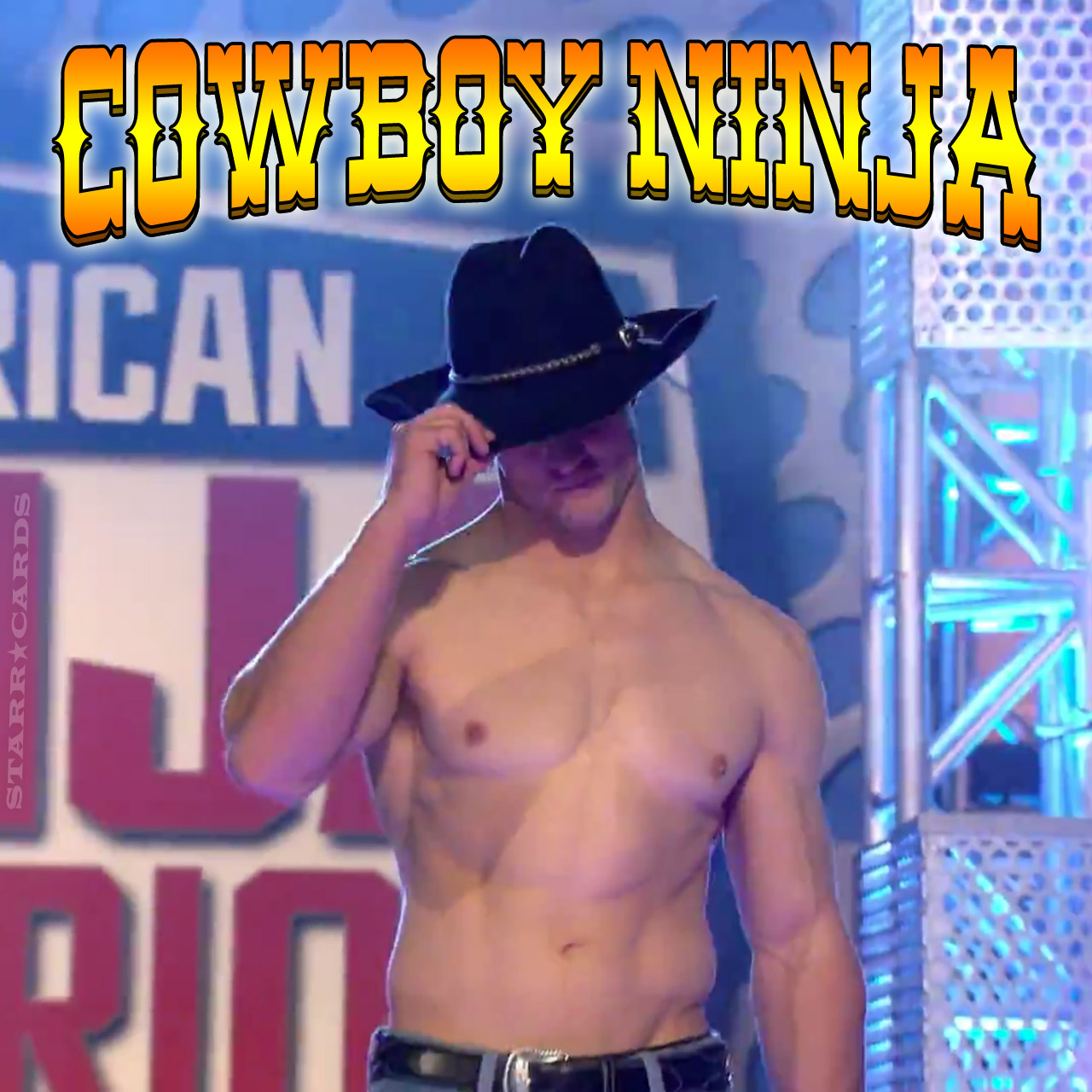 Cowboy Ninja Lance Pekus on 'American Ninja Warrior' Kansas City Finals