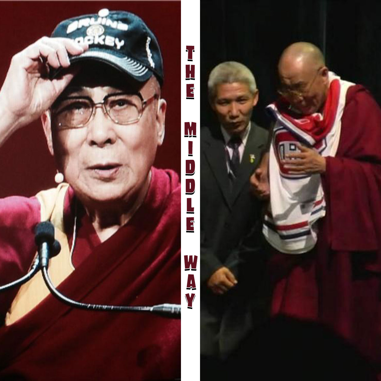 Dalai Lama opts for the Middle Way with Bruins and Habs