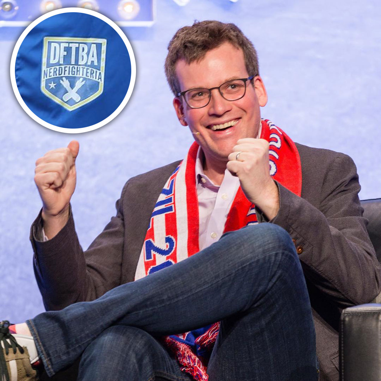 DFTBA: John Green supports AFC Wimbledon by playing EA Sports FIFA