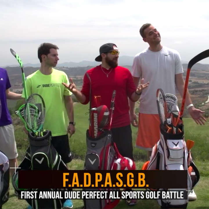 Dude Perfect All Sports Golf Battle