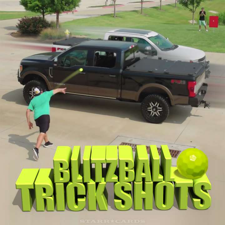 Dude Perfect returns for another edition of Blitzball trick shots