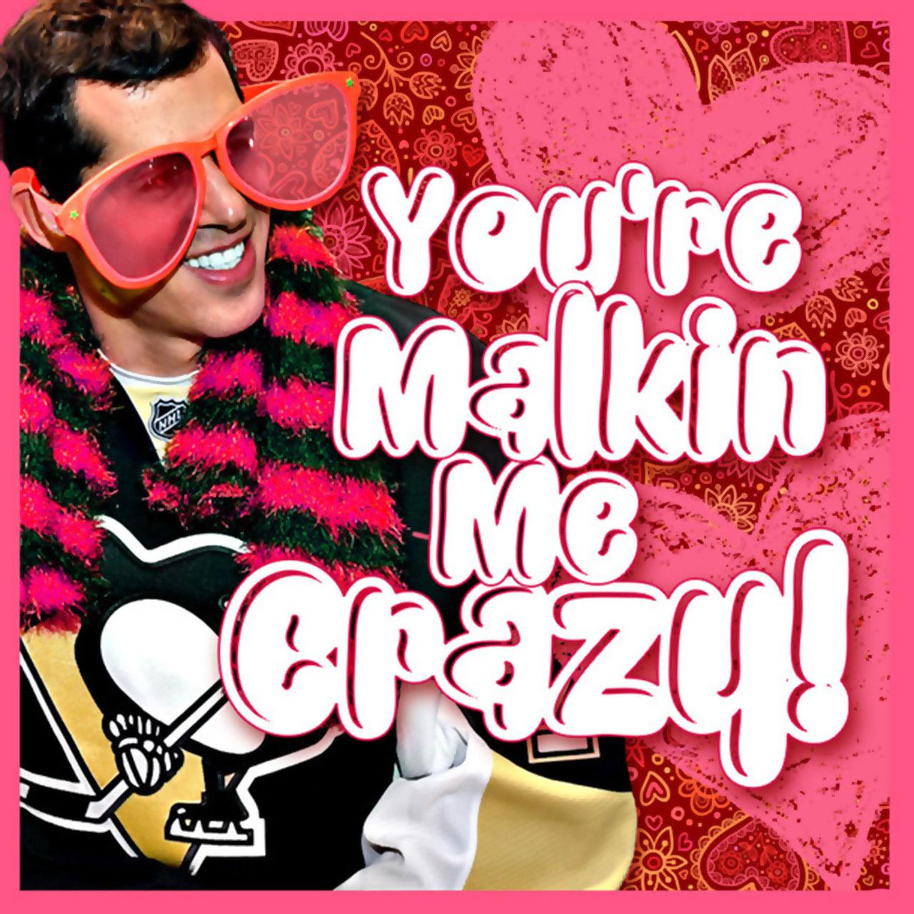 Evgeni Malkin Valentine's Day card