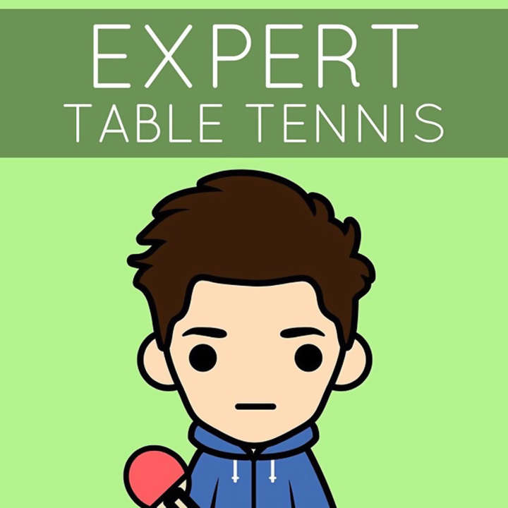 Expert table tennis taught by Ben Larcombe