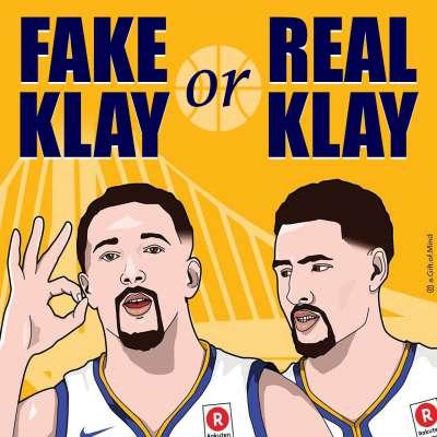 Fake Klay Thompson or Real Klay Thompson?