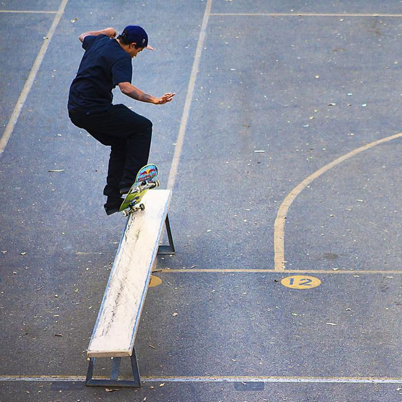 Felipe Gustavo's skateboarding trick shot by brother Paulo Macedo
