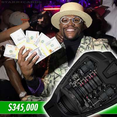 Floyd Mayweather's Hublot MP-05 watch costs more than a Ferrari 458 Italia sports car