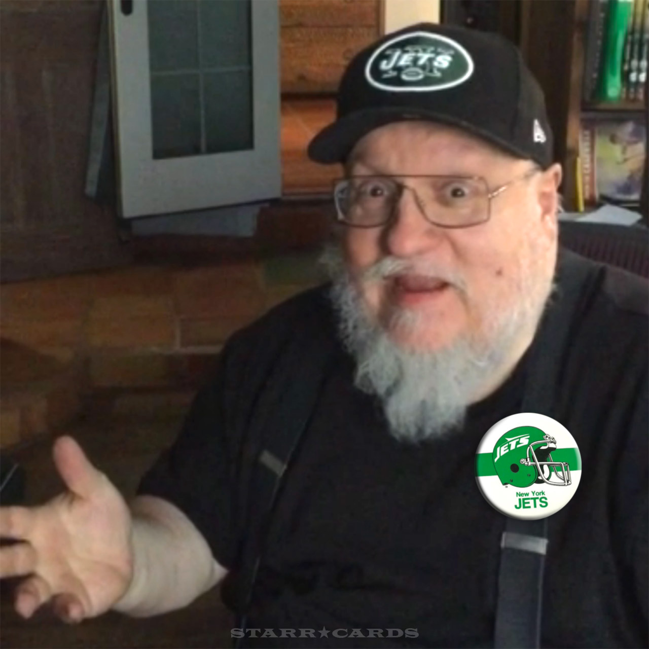 'Game of Thrones' creator George RR Martin loves his New York Jets