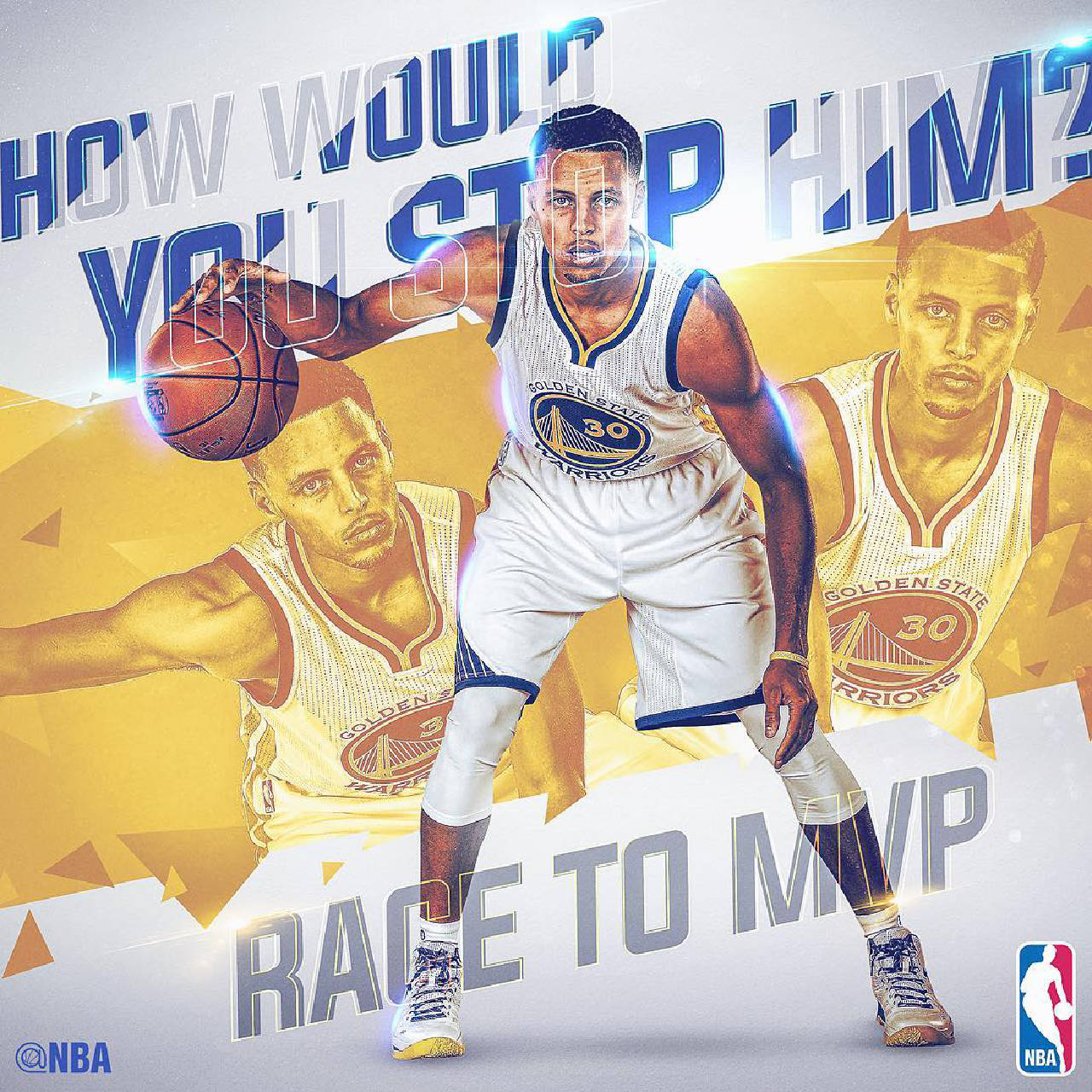 Golden State Warriors' Steph Curry NBA MVP