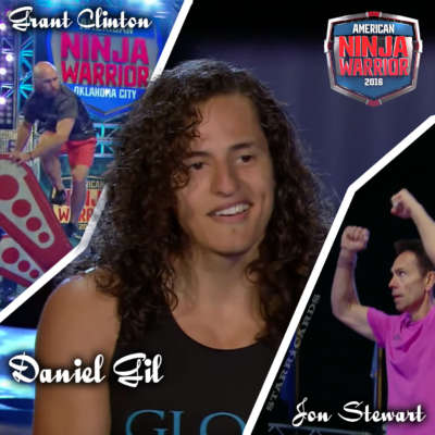 Grant Clinton, Daniel Gil and Jon Stewart shine at 'American Ninja Warrior' OKC Finals