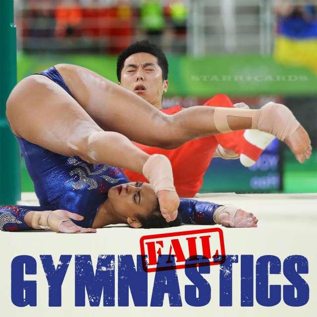 Gymnastics Fail: When Tumblers Bumble Their Tumbles
