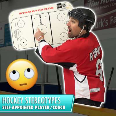 Hockey Stereotypes: The Self-Appointed Player/Coach