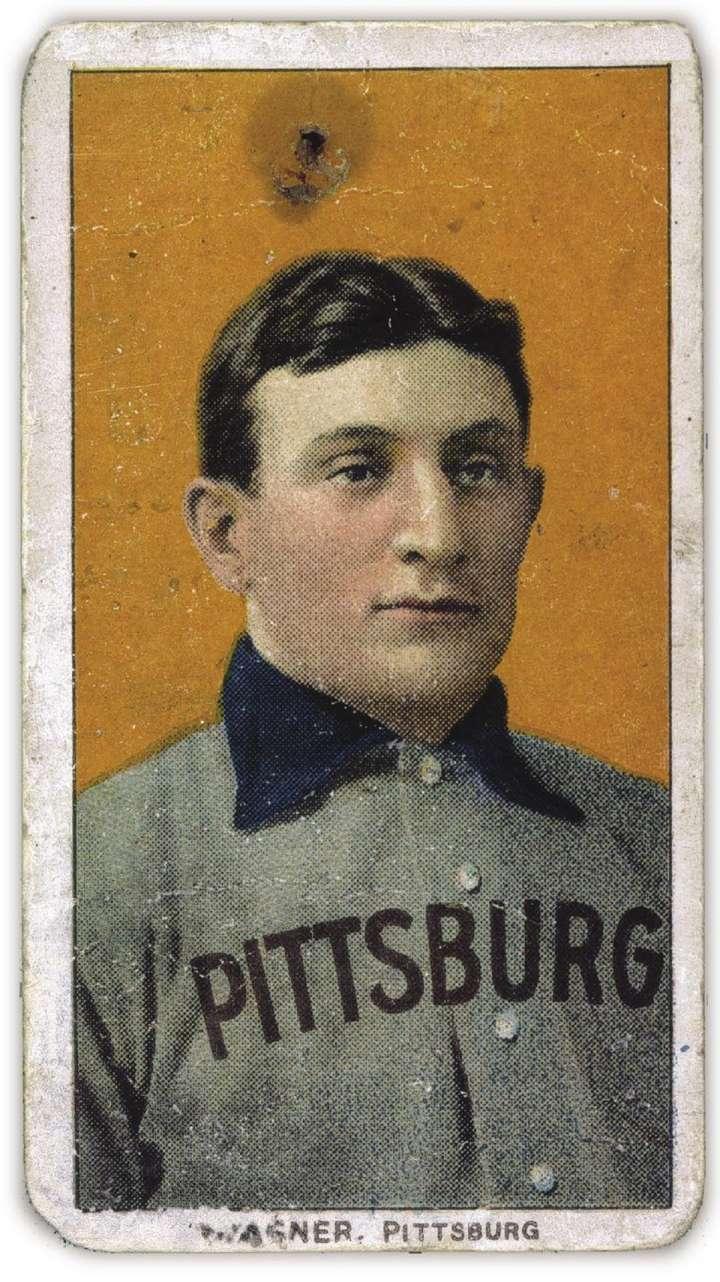 Honus Wagner, 1909-1911 ATC T206 baseball card