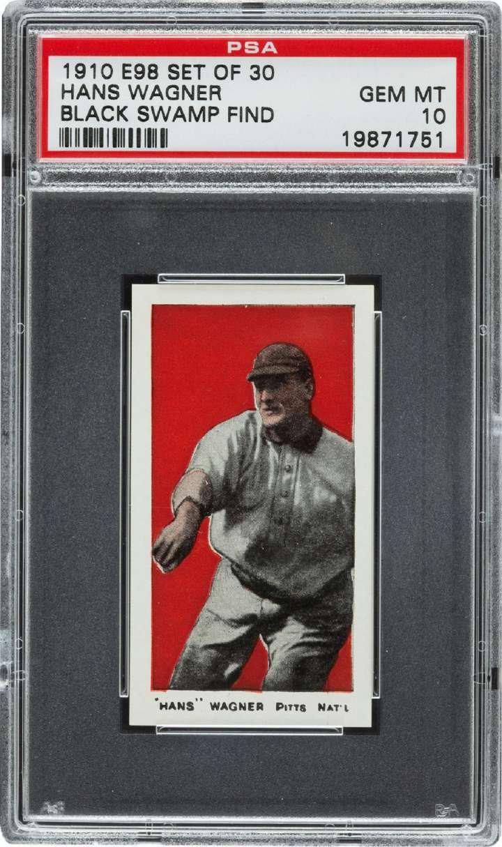 Honus Wagner, 1910 Standard Caramel baseball card