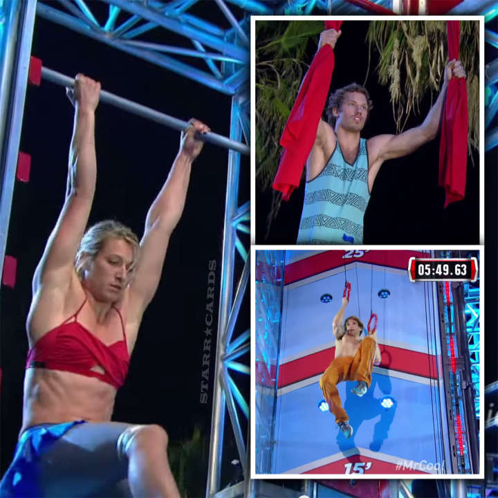 Jessie Graff, Grant McCartney and Nicholas Coolridge star in 'American Ninja Warrior' Venice Finals