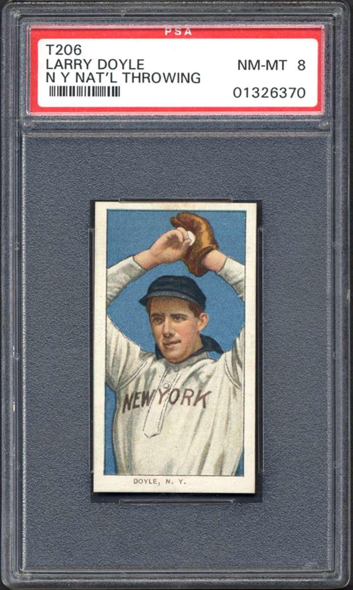 Joe Doyle, 1909-1911 ATC T206 baseball card
