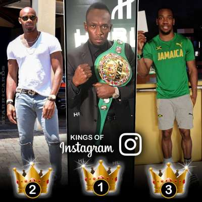 Kings of Instagram: Usain Bolt, Asafa Powell, Yohan Blake tops among runners