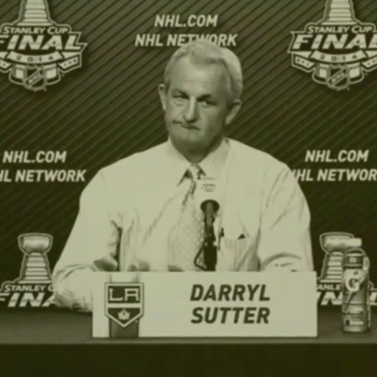 LA Kings coach Darryl Sutter