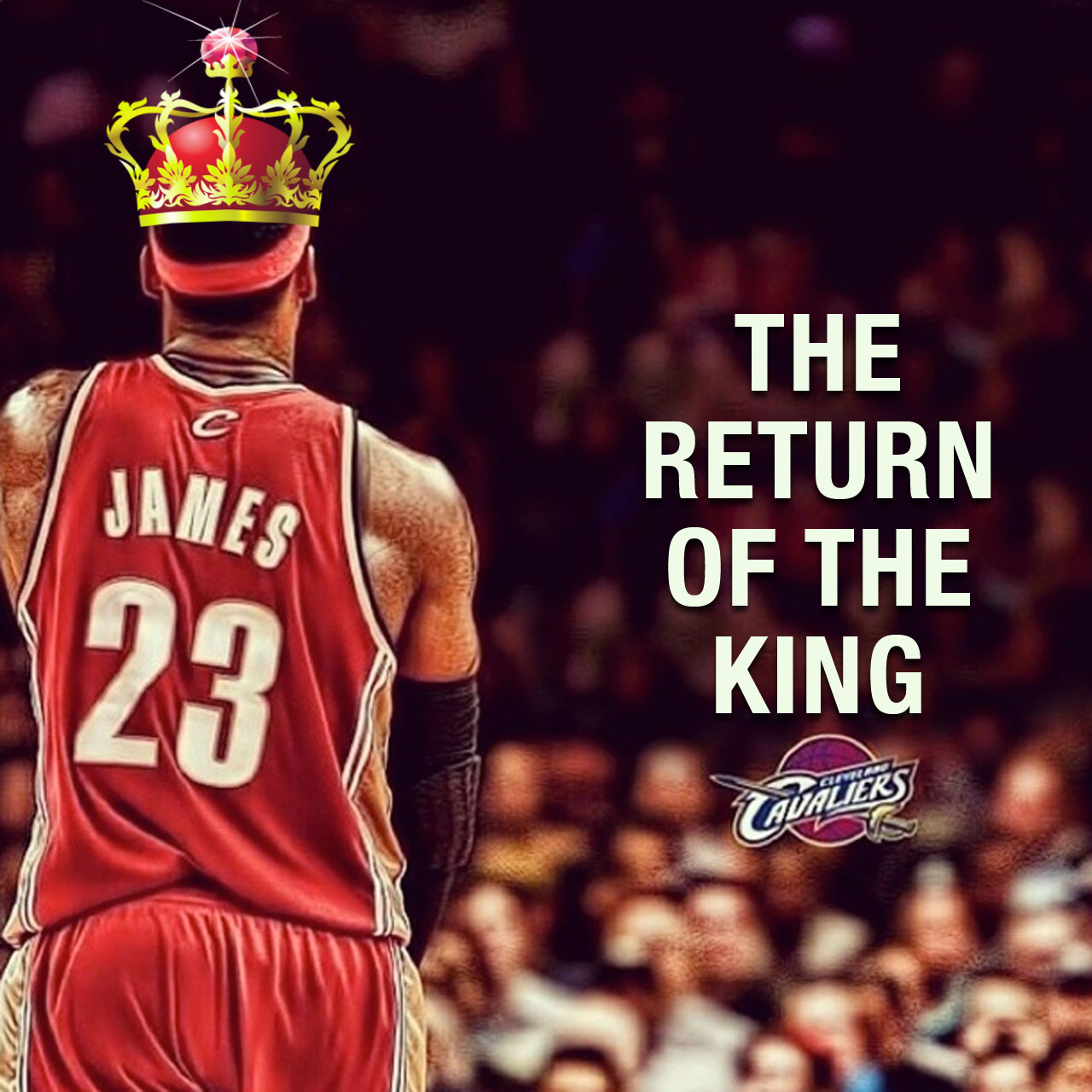 LeBron James is coming home to the Cleveland Cavaliers
