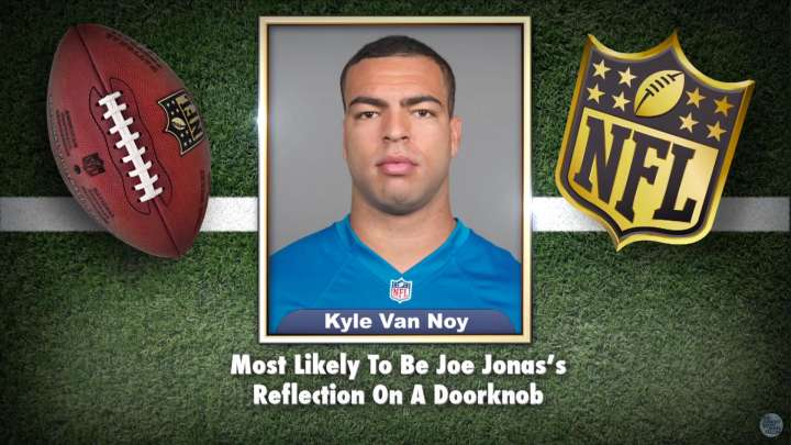 Lions' Kyle Van Noy honored on 'The Tonight Show Starring Jimmy Fallon'