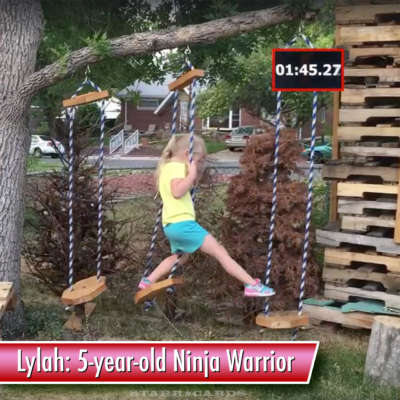 Lylah MacCall: 5-year-old American Ninja Warrior