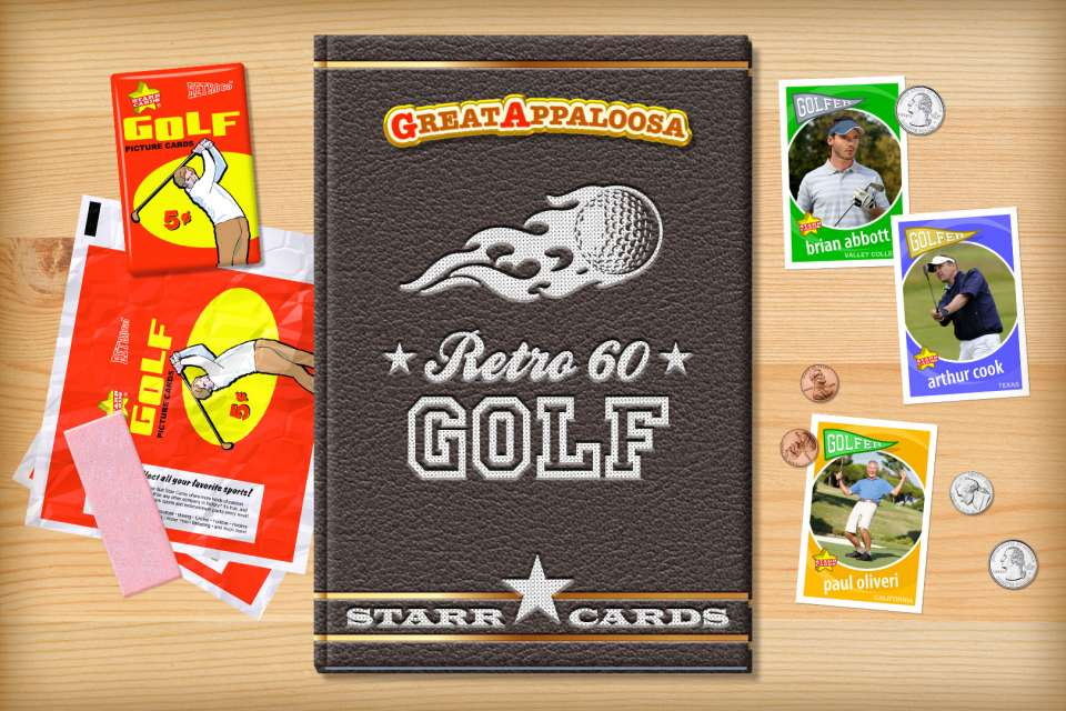 Make your own retro golf card with Starr Cards.