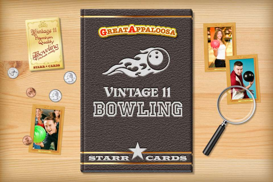 Make your own vintage bowling card with Starr Cards.