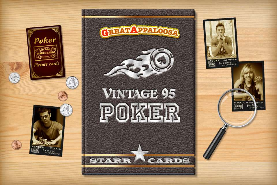 Make your own vintage poker card with Starr Cards.