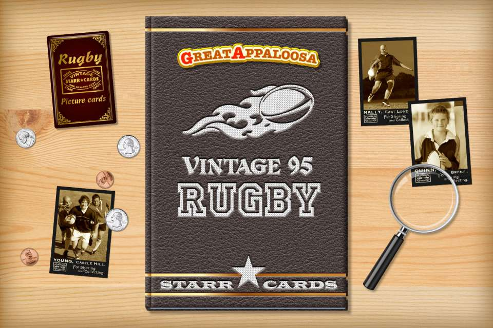 Make your own retro rugby card with Starr Cards.