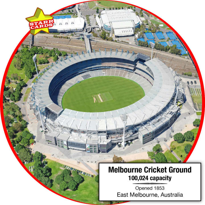 Melbourne Cricket Ground, East Melbourne, Australia