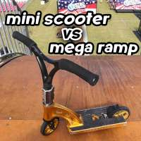 Mini scooter vs mega ramp starring Ryan Williams