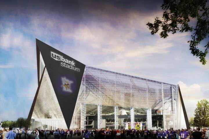 Minnesota Vikings' US Bank Stadium