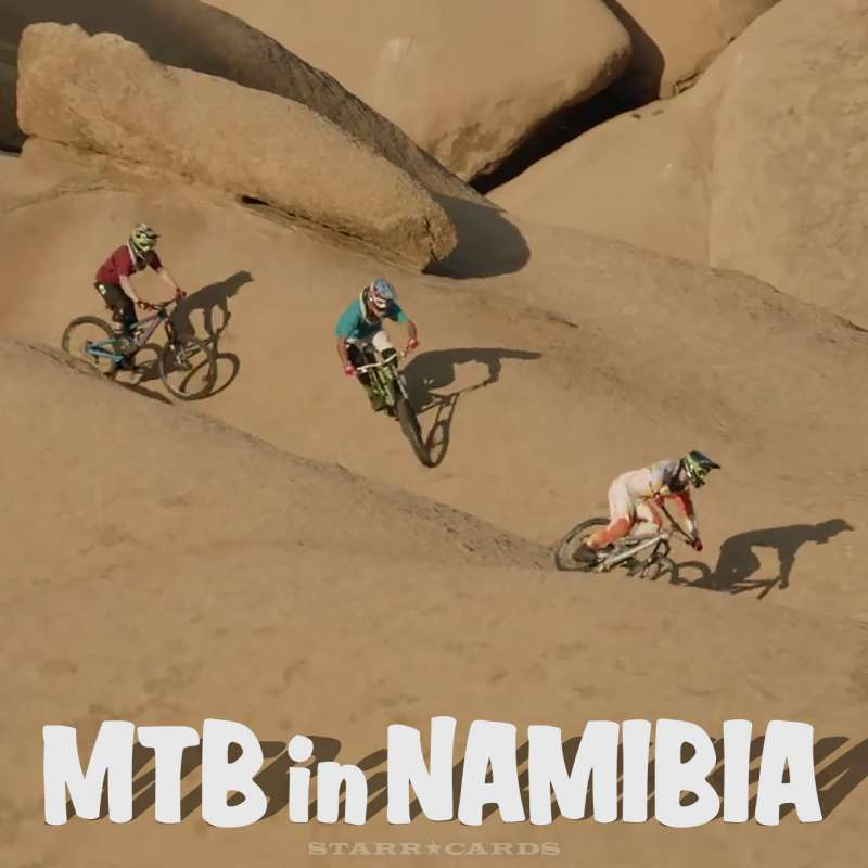 MTB in Namibia, Africa with Andi Tillmann, Kyle Jameson and Michi Tillmann