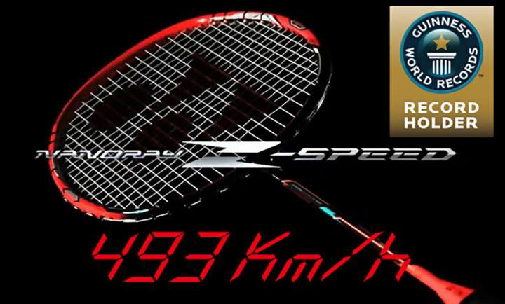 Nanoflex Z-Speed badminton racquet from Yonex