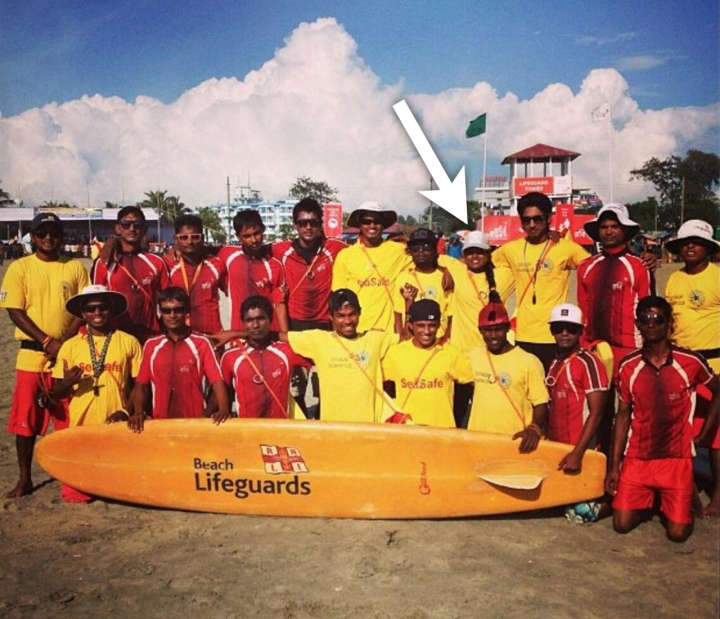 Nasima Akter: Bangladesh's first female surfer and lifeguard