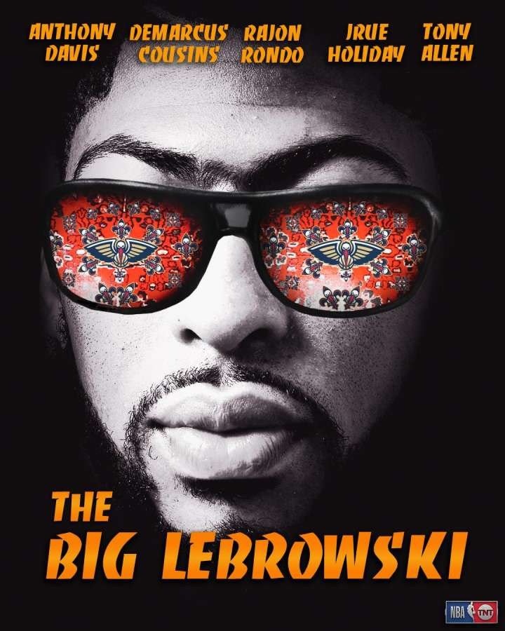 NBA Movie Remakes: Anthony Davis in 'The Big Lebrowski'