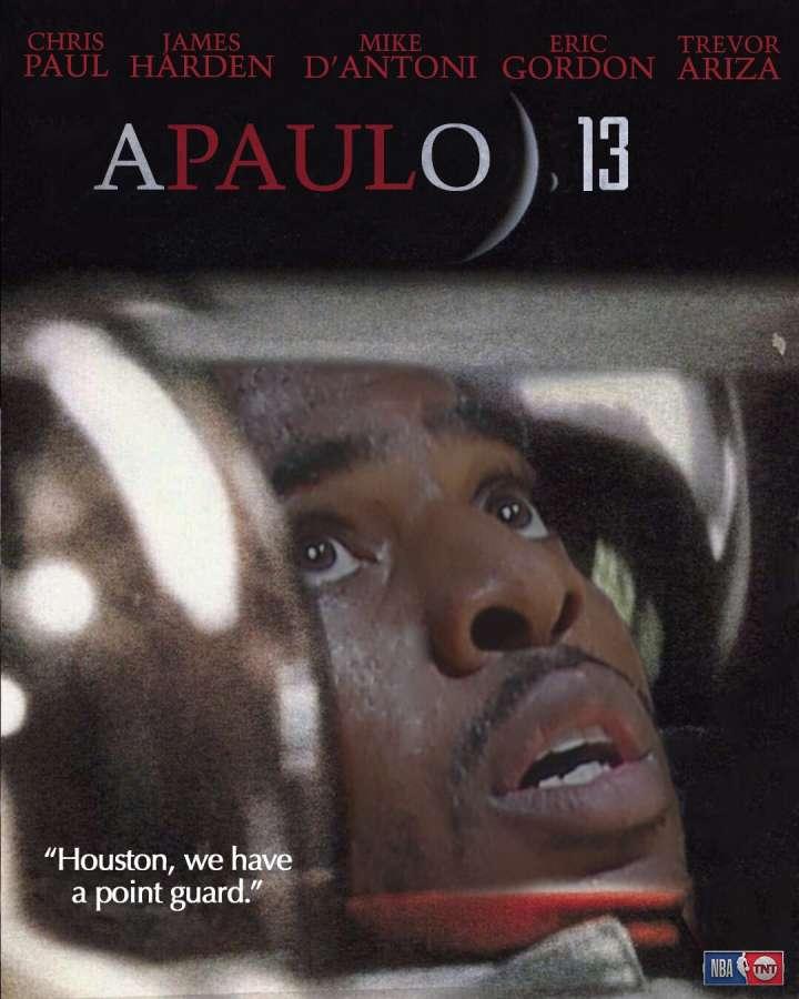 NBA Movie Remakes: Chris Paul in 'Apaulo 13'