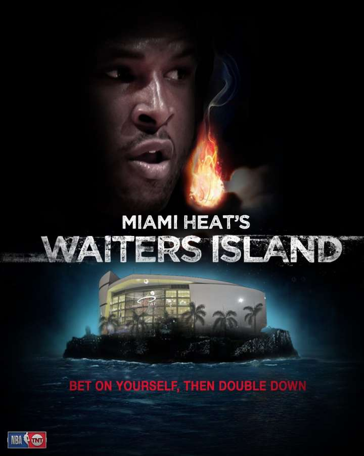 NBA Movie Remakes: Dion Waiters in 'Miami Heat's Waiters Island'